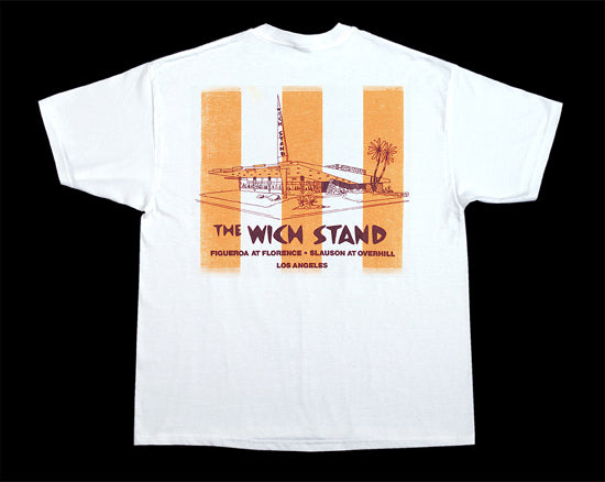 Whichstand Restaurant White Cotton T-Shirt