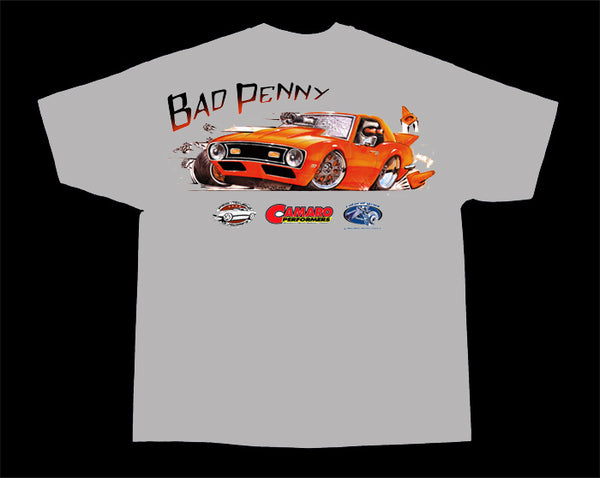 Bad Penny 1968 Camaro T-Shirt - Nitroactive.net