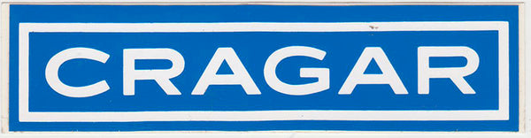 Original Cragar Sticker 1970s - Nitroactive.net