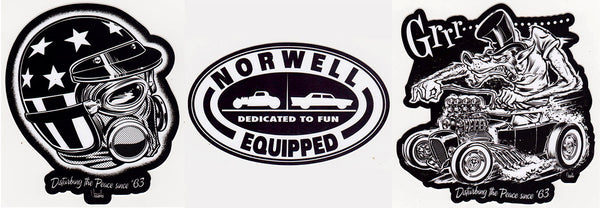 Norwell Equipped Sticker Pack