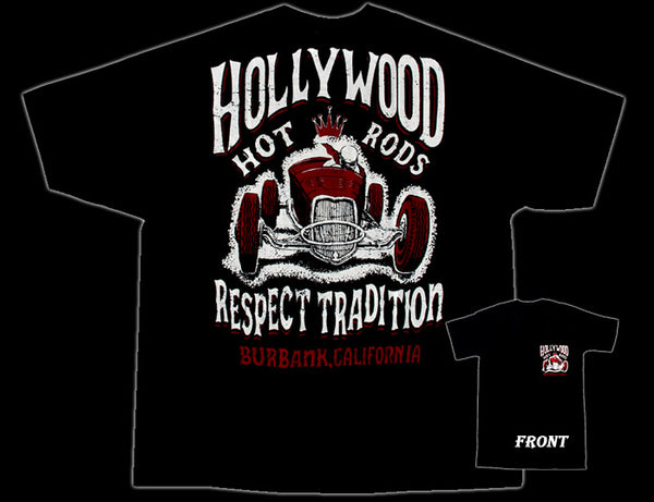 Hollywood Hot Rods Speed King T-Shirt - Nitroactive.net