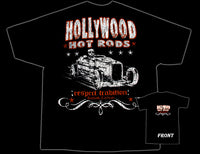 Hollywood Hot Rods Skull Rod T-Shirt - Nitroactive.net