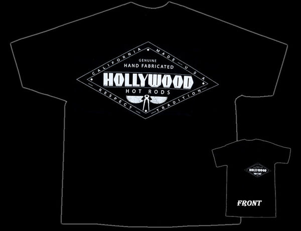Hollywood Hot Rods Diamond Black T-Shirt - Nitroactive.net