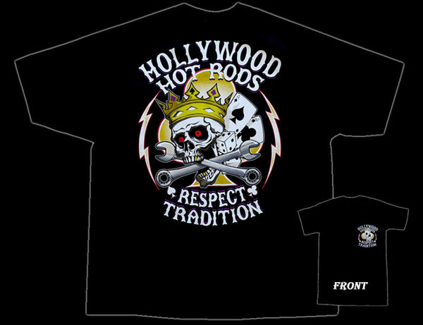 Hollywodd Hot Rods King T-Shirt - Nitroactive.net
