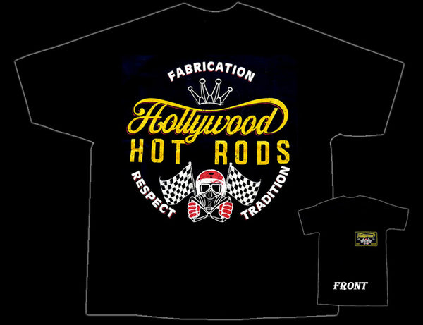 Hollywood Hot Rods Gas Mask T-Shirt - Nitroactive.net