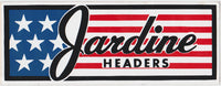 Jardine Headers Sticker 1970s - Nitroactive.net