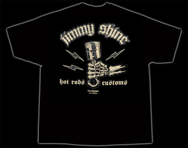 Jimmy Shine Piston So-Cal Speed Shop T-Shirt - Nitroactive.net