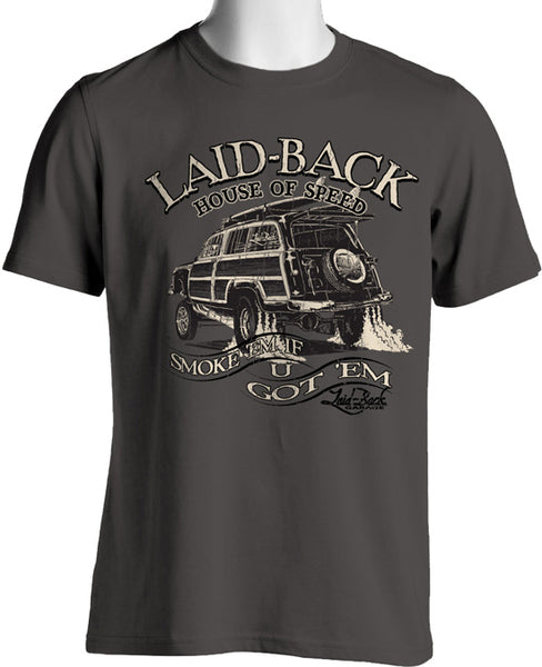 Laid-Back House of Speed Woodie T-Shirt - Nitroactive.net