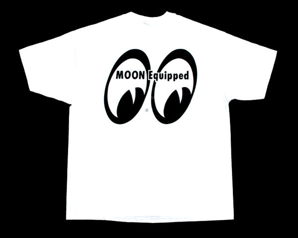 Moon Equipped White T-Shirt - Nitroactive.net