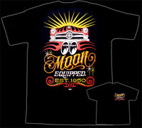 Moon Shoebox Black T-Shirt