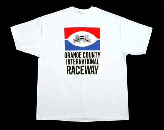Nostalgia Orange County International Raceway T-Shirt - Nitroactive.net