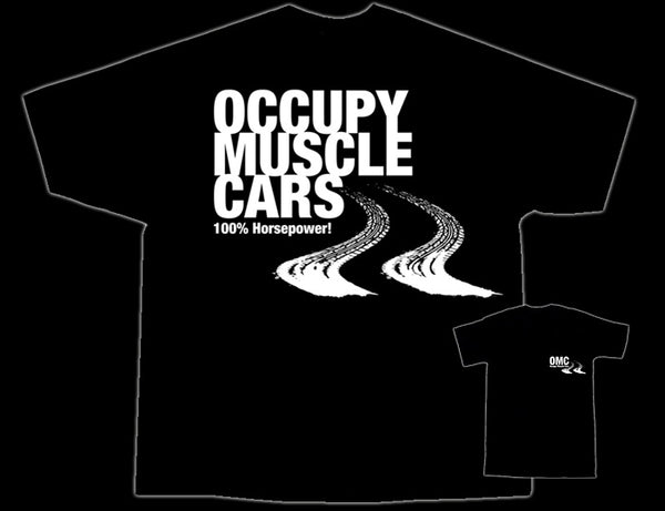 Occupy Muscle Car T-Shirts Back View - Nitroactive.net