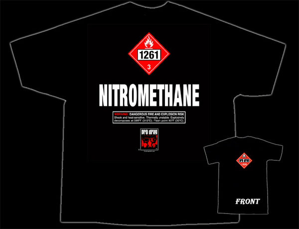Nitromethane Pro Drag T-Shirt - Nitroactive.net