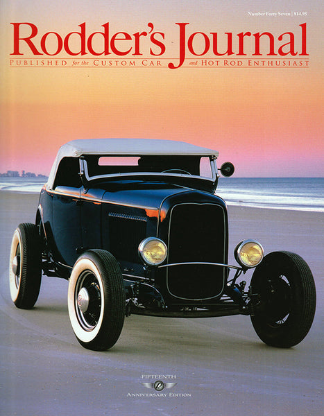 Rodder's Journal Number Forty Seven – Cover A