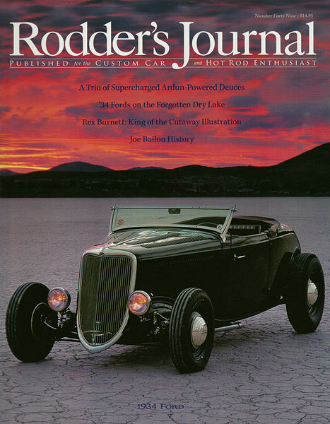 Rodder's Journal Number Forty Nine – Cover A - Nitroactive.net