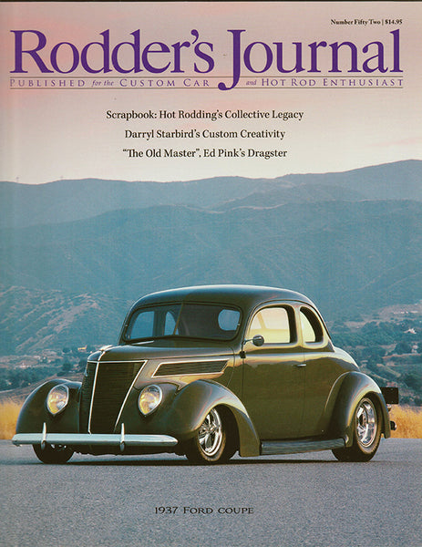 Rodder's Journal Number Fifty Two – Cover A - Nitroactive.net