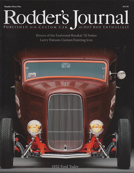 Rodder's Journal Number Sixty One – Cover A - Nitroactive.net