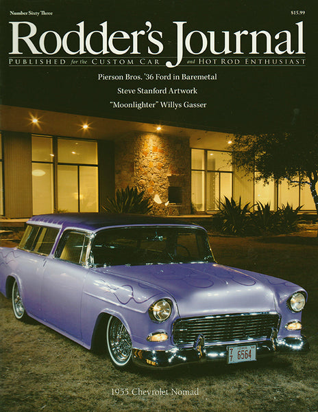 Rodder's Journal Number Sixty Three – Cover A