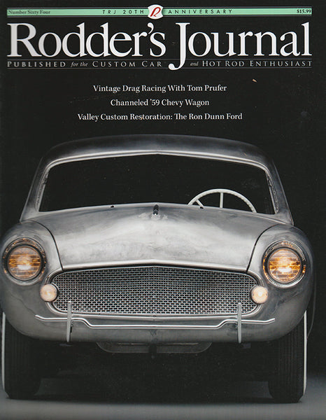 Rodder's Journal Number Sixty Four – Cover A