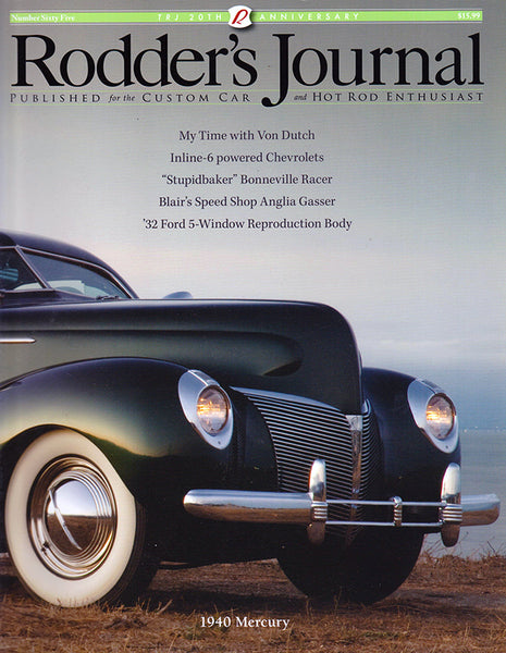 Rodder's Journal Number Sixty Five – Cover A