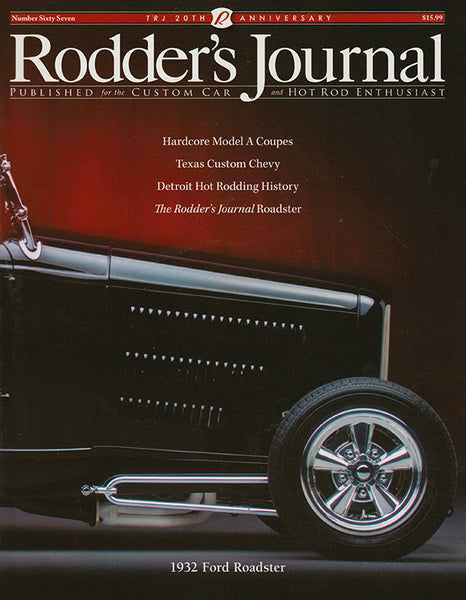 Rodder's Journal Number Sixty Seven – Cover A