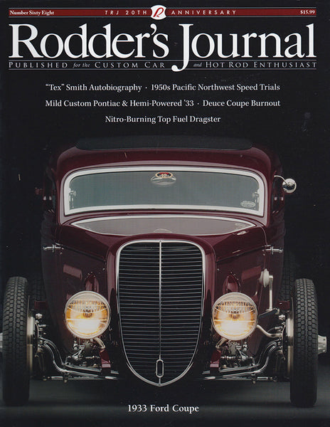 Rodder's Journal Number Sixty Eight – Cover A - Nitroactive.net