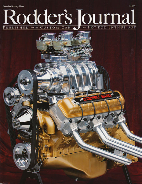 Rodder's Journal Number Seventy Three – Cover A - Nitroactive.net