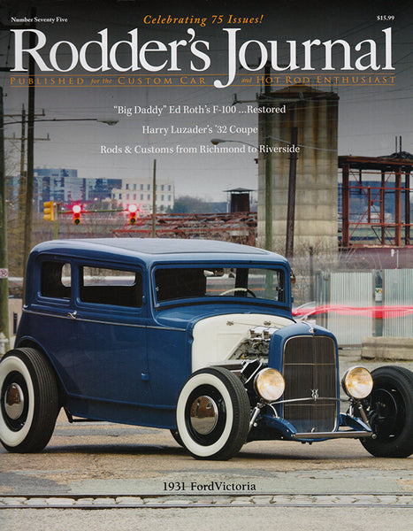 Rodder's Journal Number Seventy Five – Cover A - Nitroactive.net