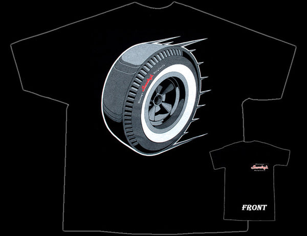 Drag Slick Tire Snooky's T-Shirt - Nitroactive.net