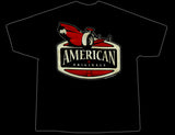 Snookys American Drag Black T-Shirt Rear