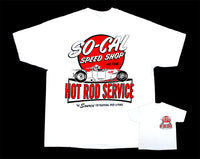 Hot Rod Service So-Cal Speed Shop T-Shirt - White - Nitroactive.net