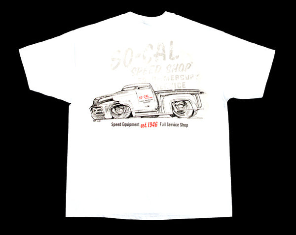 1953 Shop Truck So-Cal Speed Shop T-Shirt - Nitroactive.net