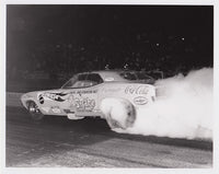 Don Prudhomme the Snake Hot Wheels Funny Car Burnout 8X10 Photo