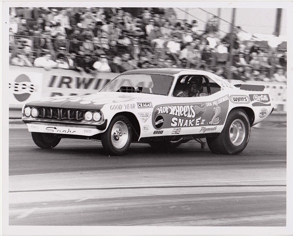 Don Prudhomme Snake II Hot Wheels Funny Car 8X10 Photo