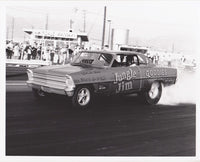 Jungle Jim Liberman Early Nova Funny Car Burnout 8x10 Photo