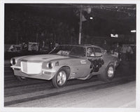 Jungle Jim Liberman Camaro Funny Car 8x10 B&W Photo
