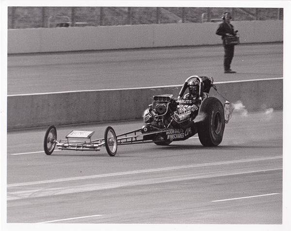 Don Garlits Wynnscharger Dragster 8x10 Photo