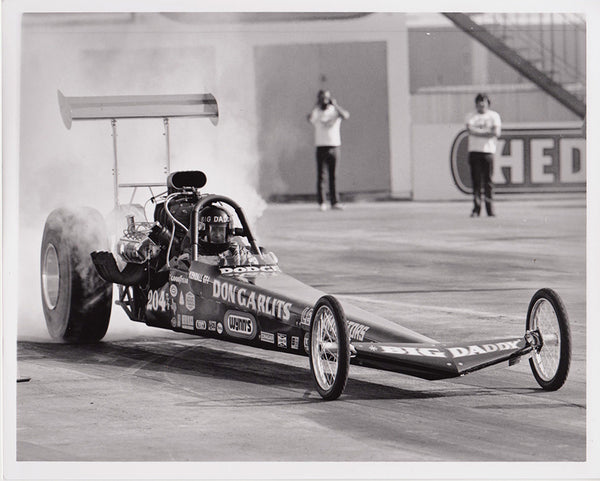 Don Garlits Rear Engine Dragster Burnout 8x10 Photo