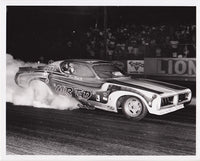 Dave Beebe Mr Ed Dodge Charger Funny Car Burnout 8x10 Photo