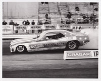 Damn Yankee Funny Car Black & White Photo