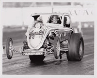 Burkholder Brothers Fuel Altered 8x10 Black and White Photo