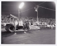 Rain For Rent Top Fuel Dragster 8x10 Black and White Photo