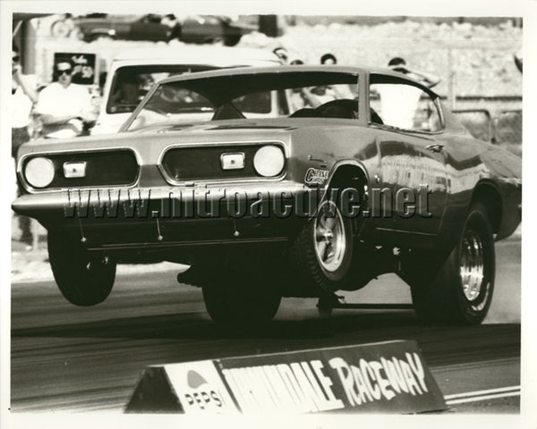 Limefire Barracuda from Irwindale