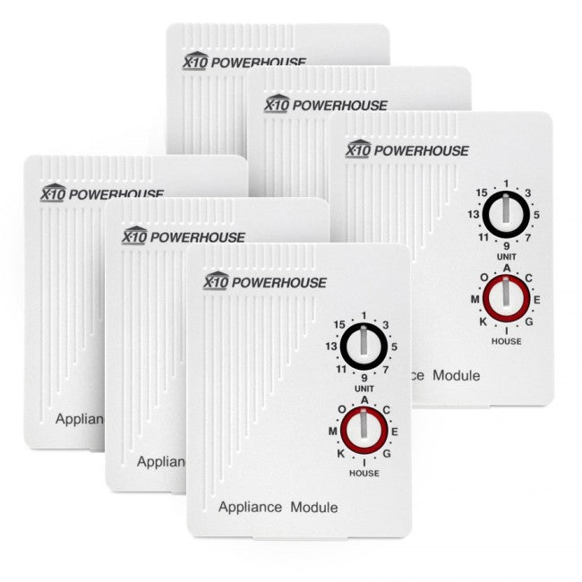 6 Pack AM466 X10 Appliance Module