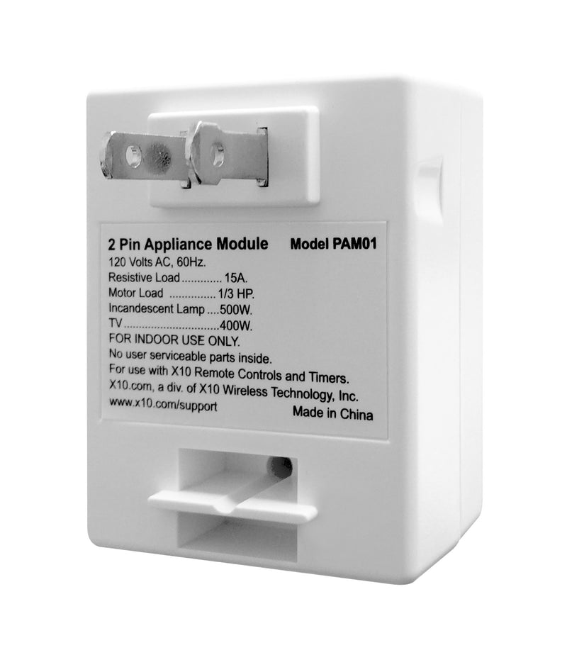 PAM01 2 Pin Appliance Module with AGC