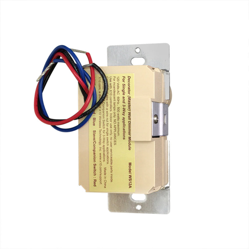 WS12A Decorator Dimmer Switch - X10