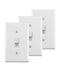 3 Pack WS469 Push Button Relay Wall Switch