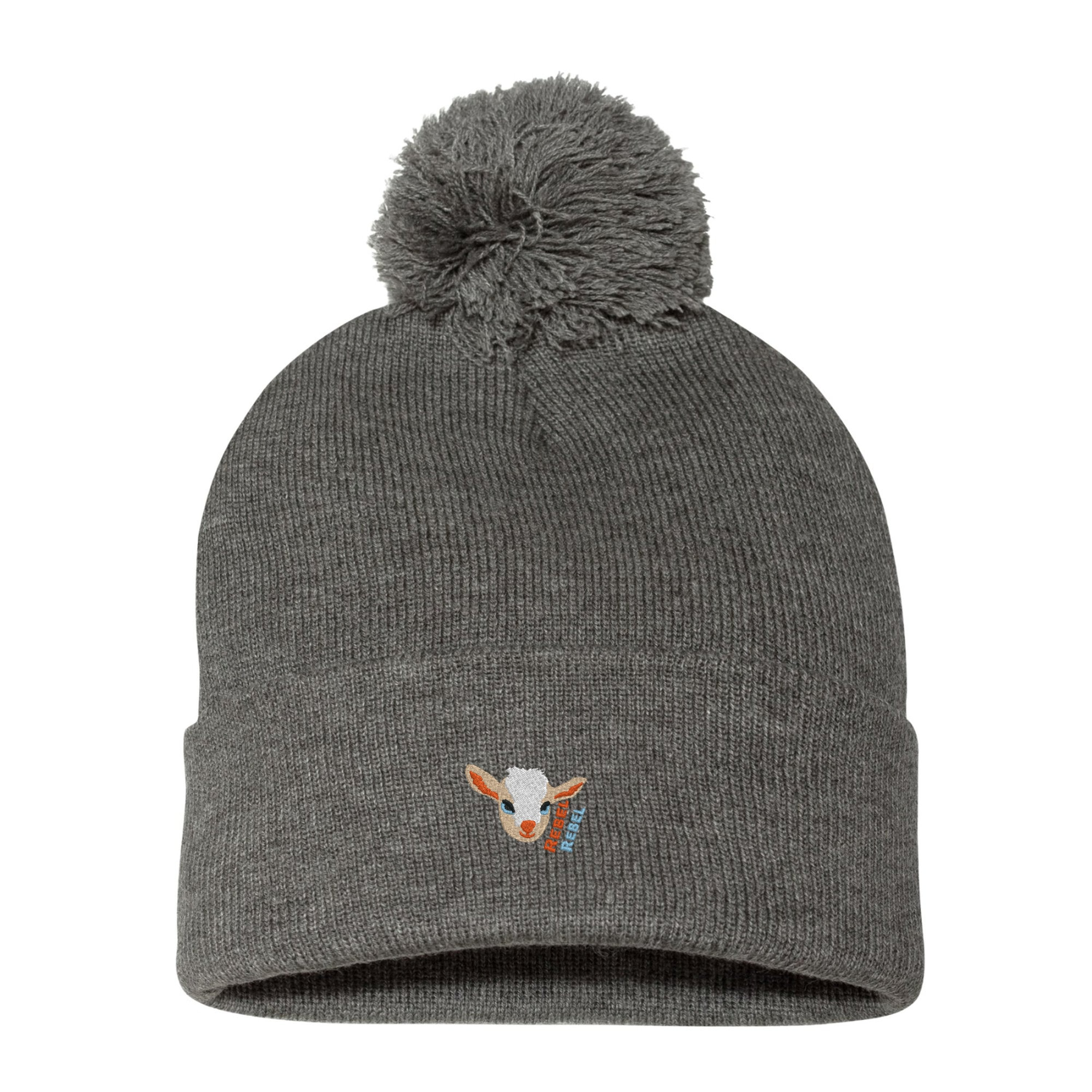 Scout the Rebel Rebel Pom Pom Beanie