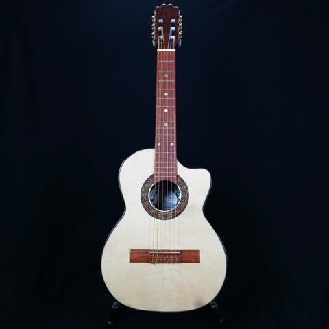 Paracho Elite Gonzales Acoustic Requinto Guitar