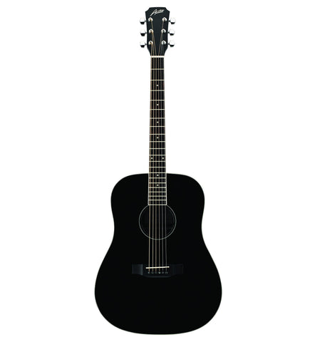 Austin AA25-D BK Dreadnought Acoustic Guitar